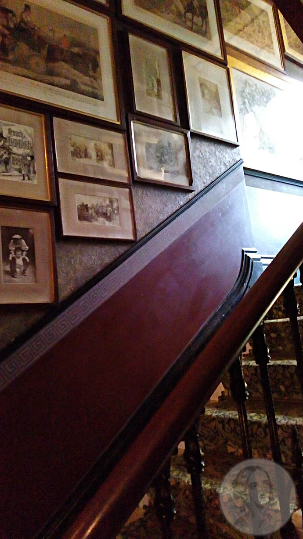 linley sambourne house trapgat met foto's en tekeningen
