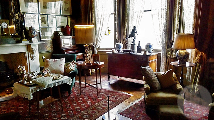 linley sambourne drawing room
