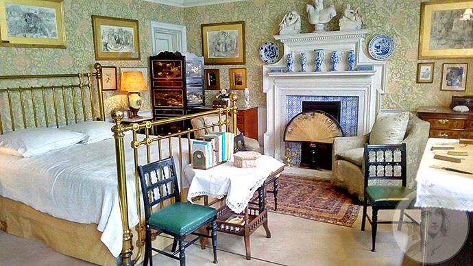 linley sambourne slaapkamer