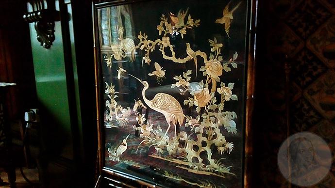 linley sambourne victoriaans haardscherm