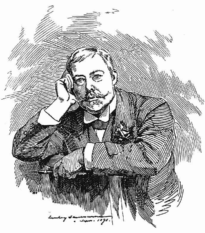 linley sambourne zelfportret 1891