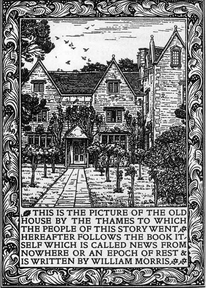 william morris news from nowhere kelmscott manor
