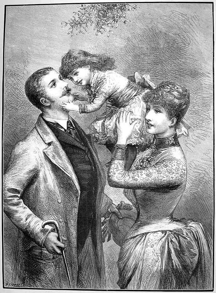 Een gelukkig gezin, kinderen in de victoriaanse tijd