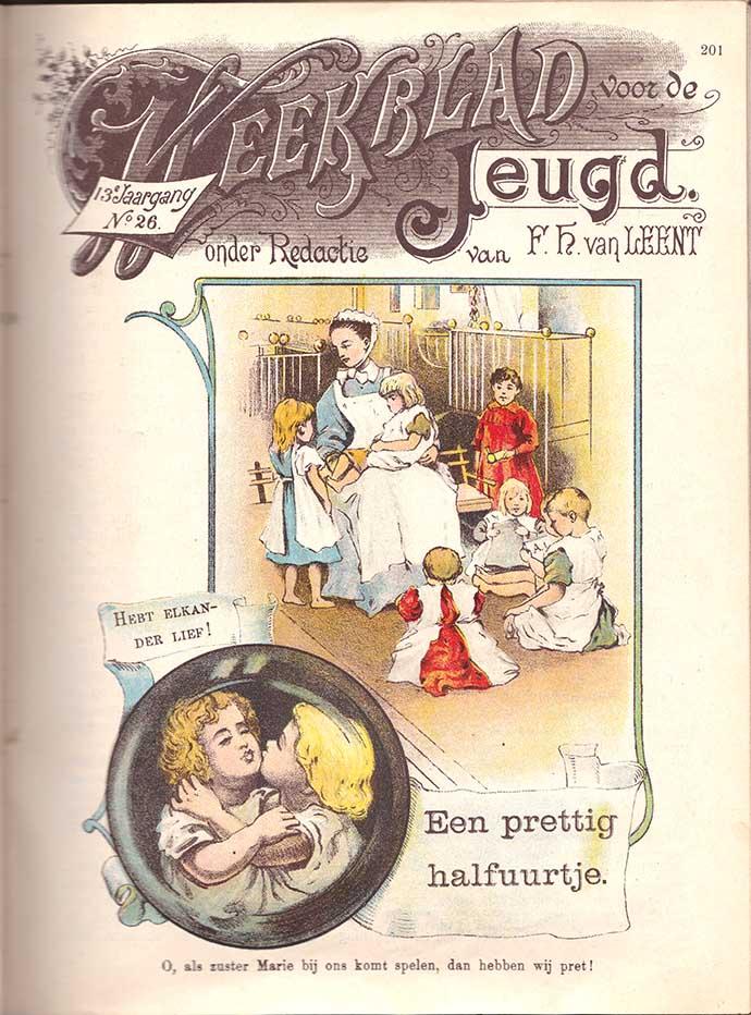 weekblad voor de jeugd kinderen