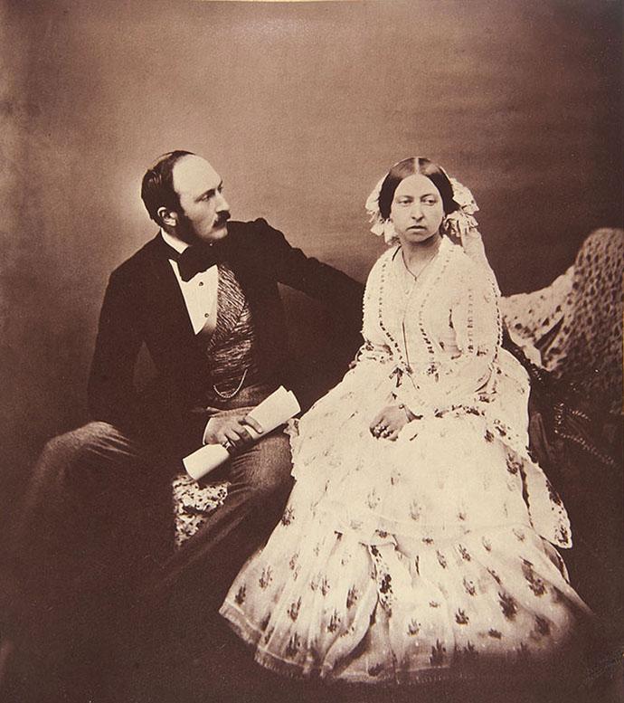 Albert en Victoria foto