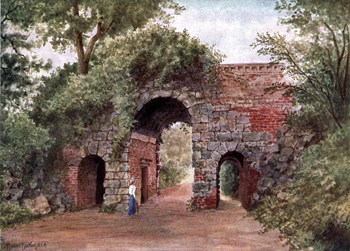 Kew Gardens Ruined Arch