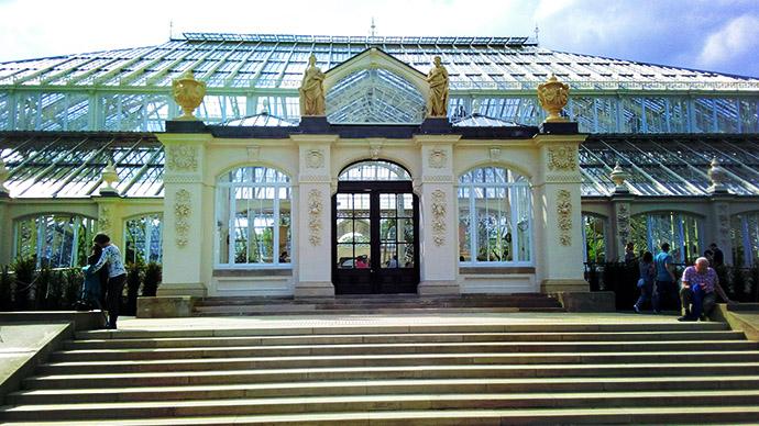 Kew Gardens Temperate House ingang