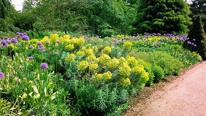 Kew Gardens bloemenperk