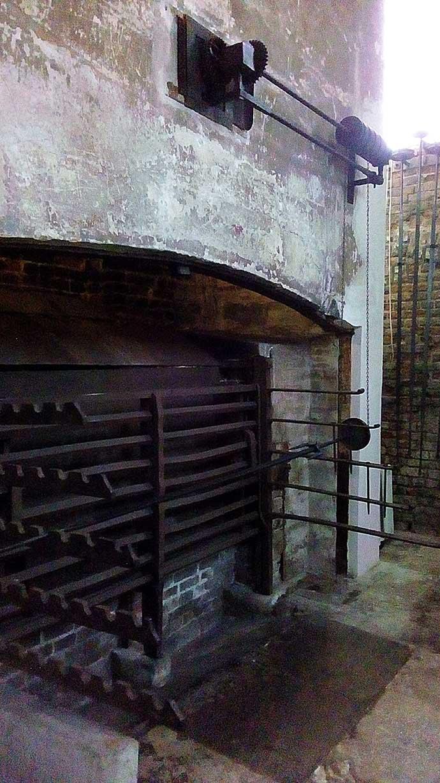 Kew Palace keuken braadspit