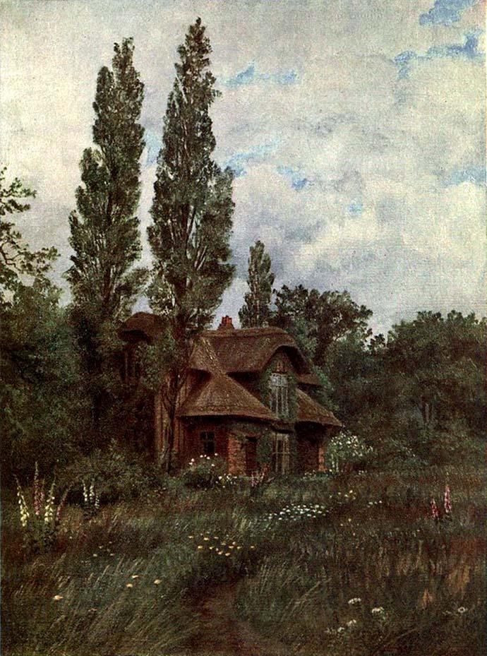 queen charlotte's cottage kew gardens