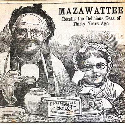 victoriaanse thee reclame