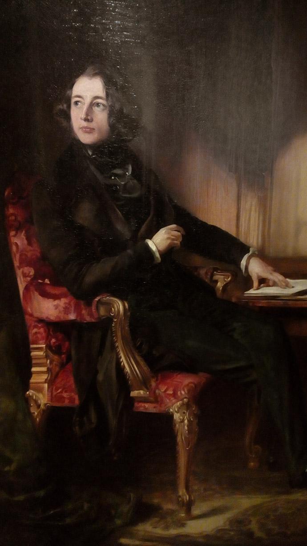 Portret van Charles Dickens