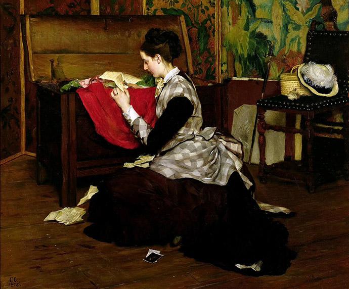 liefdesbrief Gustave Léonard de Jonghe