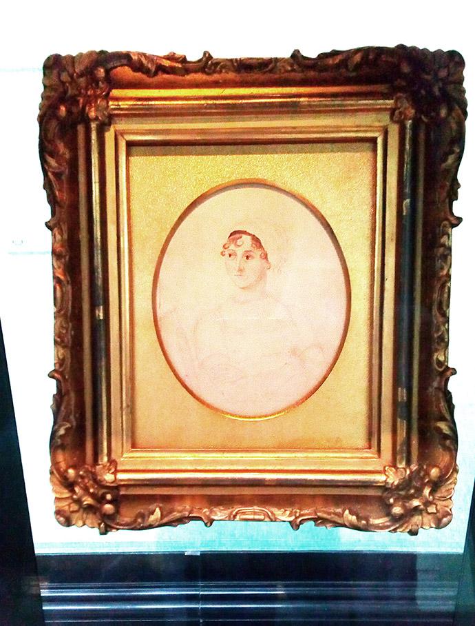 Jane Austen portret afbeelding
