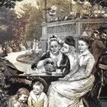 Een Rotterdams theepartijtje in een Londense krant uit 1880