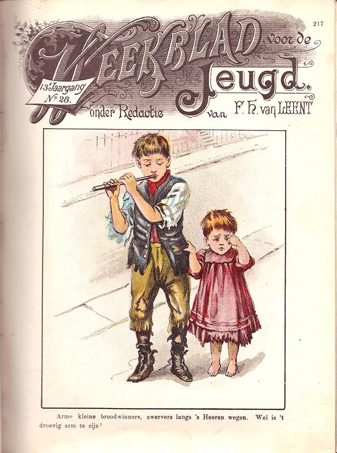 arme kinderen 19e eeuw