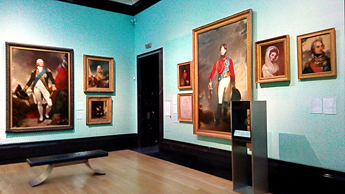Zaal National Portrait Gallery Londen