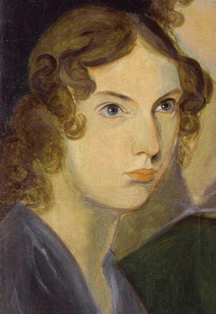 Anne Brontë door Patrick Branwell Brontë