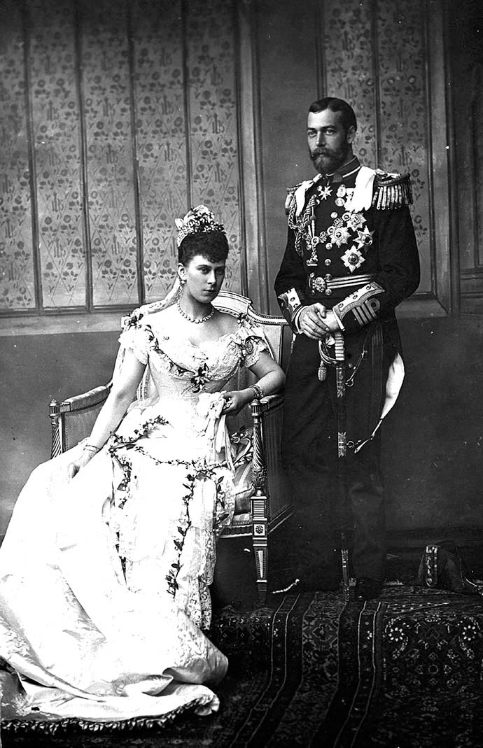 Bruiloft George en Mary 1893