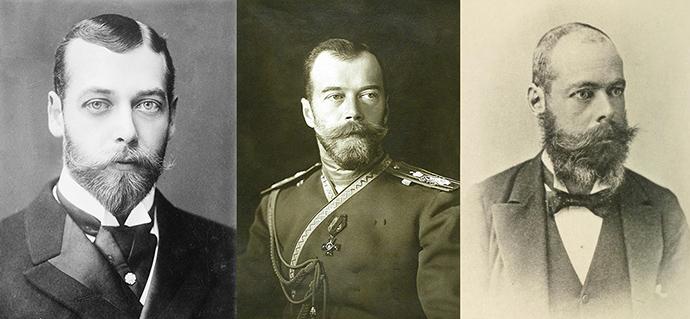 George V- Nicolaas II - Randolph Churchill