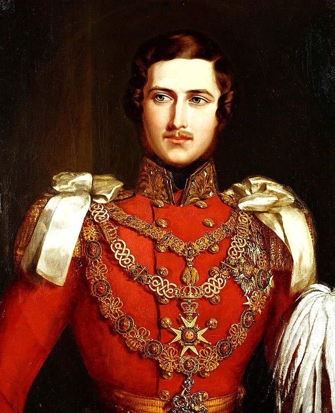 Prins Albert in 1840