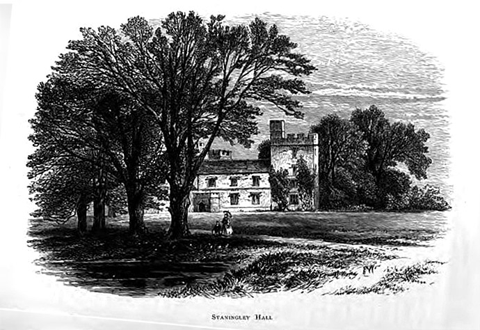 Staningley Hall Wildfell Fall Anne Bronte 1873