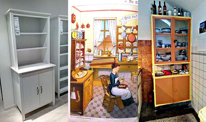 Victoriaanse Keukenkast IKEA