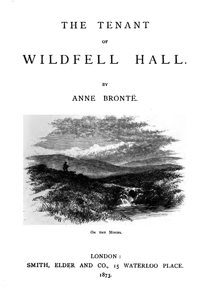 Voorpagina On The Moors 1873 Wildfell Hall