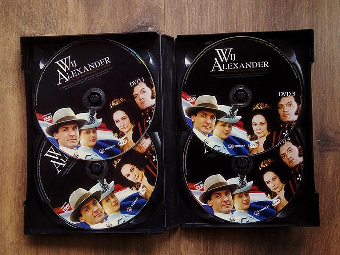 Wij Alexander serie dvd boxset schijven