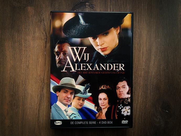 Wij Alexander serie dvd boxset