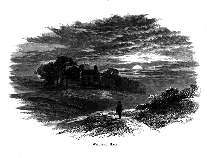 Wildfell Hall Engraving 1873