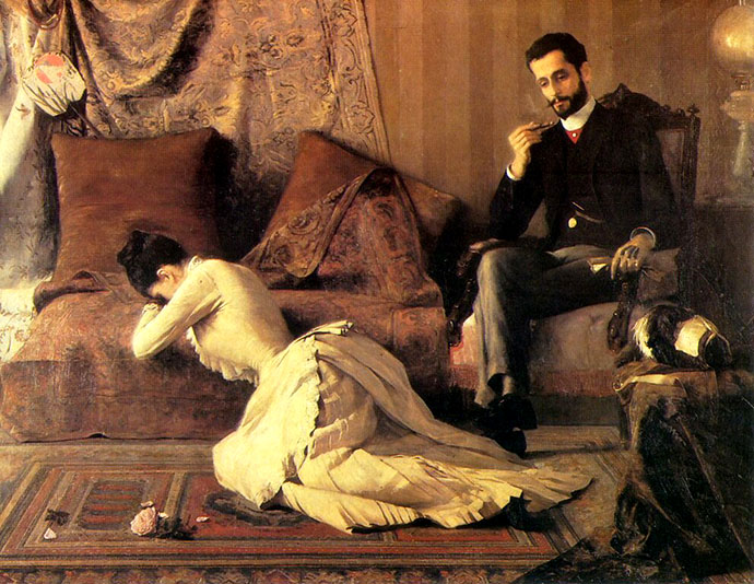 The Spat belmiro de almeida 1887