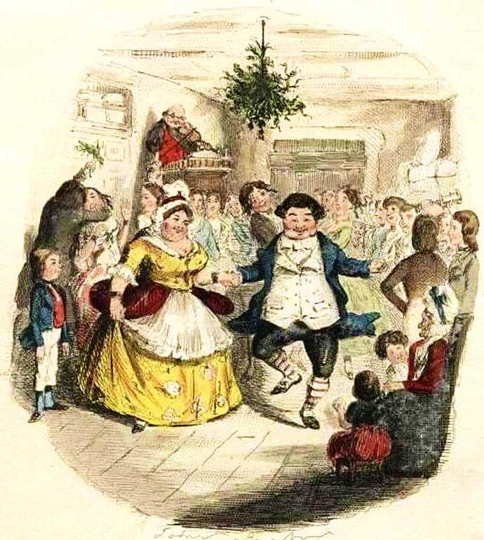 A Christmas Carol Fezziwig christmas party