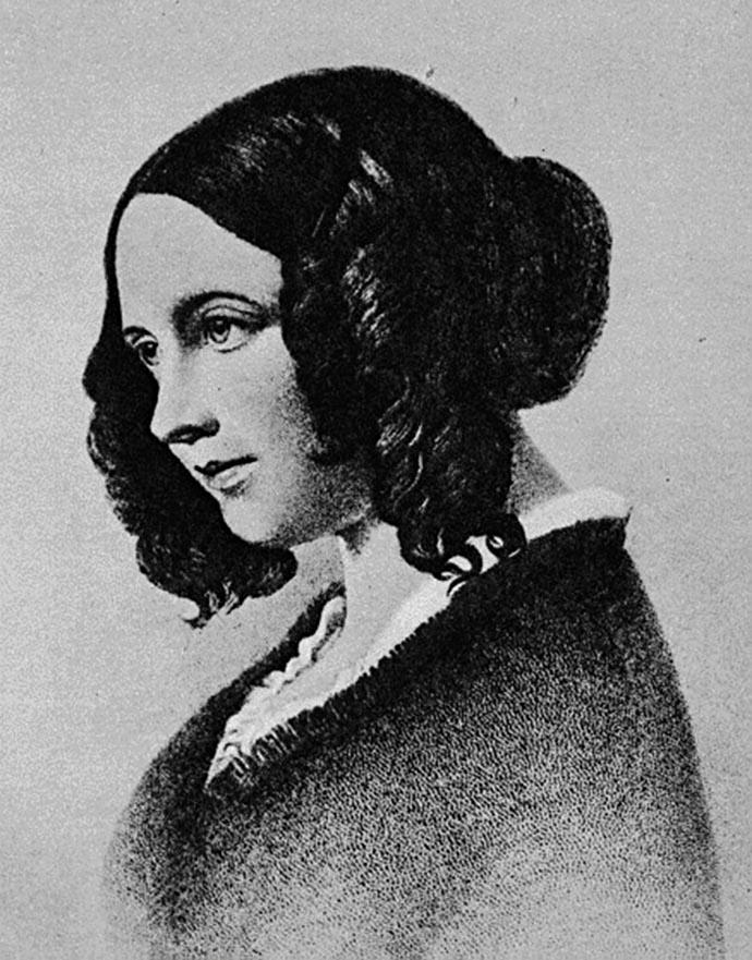 Catherine Dickens Hogarth 1845