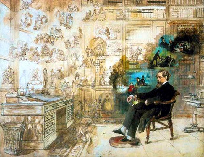 Droom van Dickens