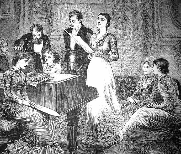 salon 19e eeuw