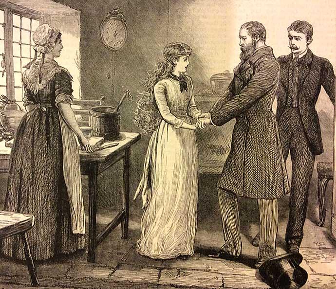 victoriaanse verloving