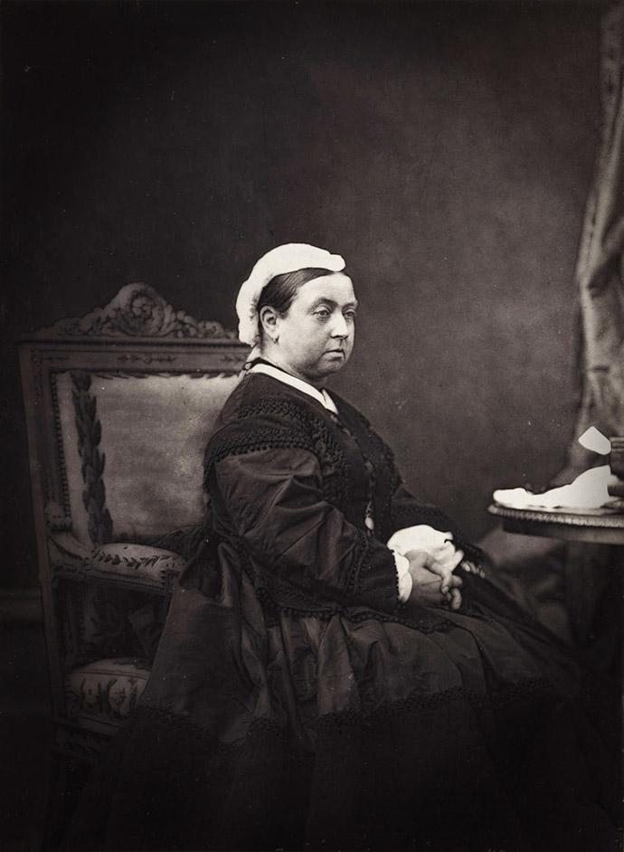Koningin Victoria rond 1870