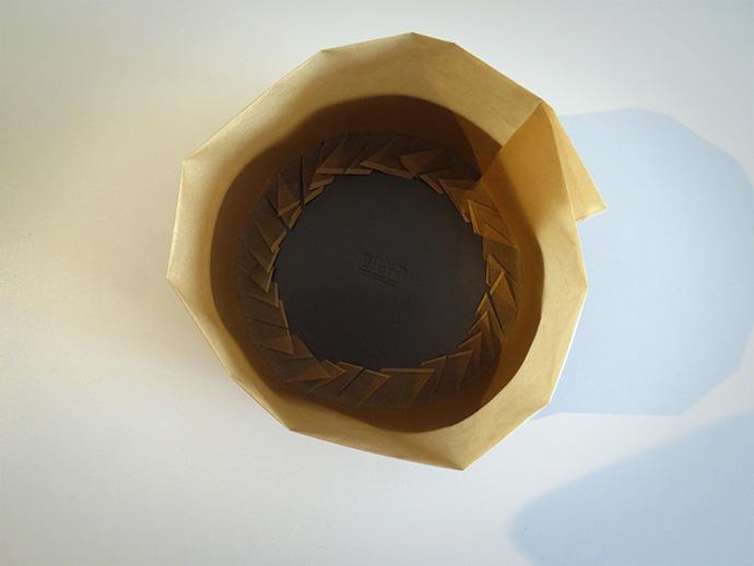 springvorm bodem bakpapier knippen