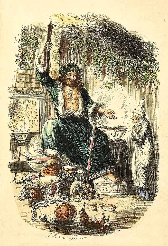 ghost of christmas present christmas carol
