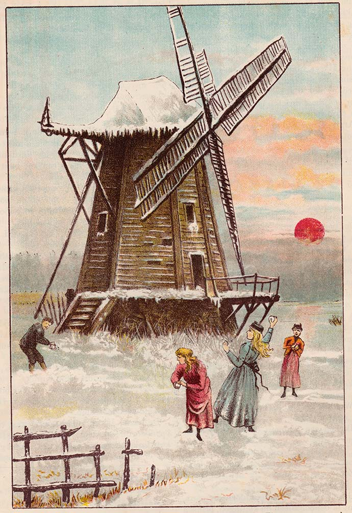 kinderen-spelen-sneeuw-vroeger