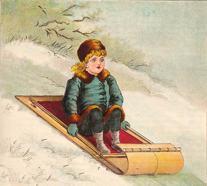 Victoriaanse winterpret