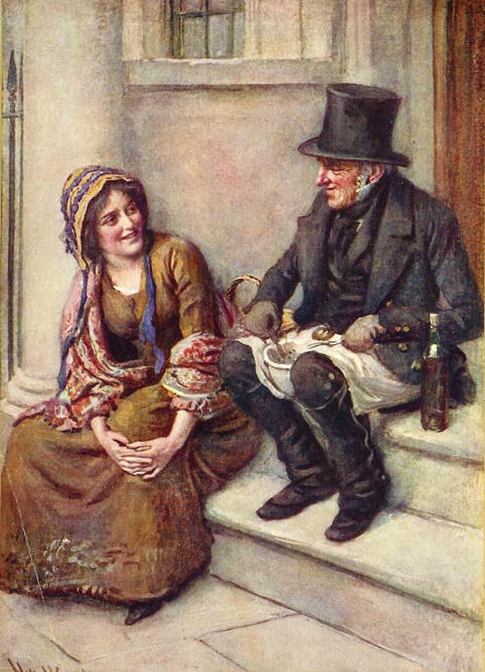 Toby Veck en dochter Meg