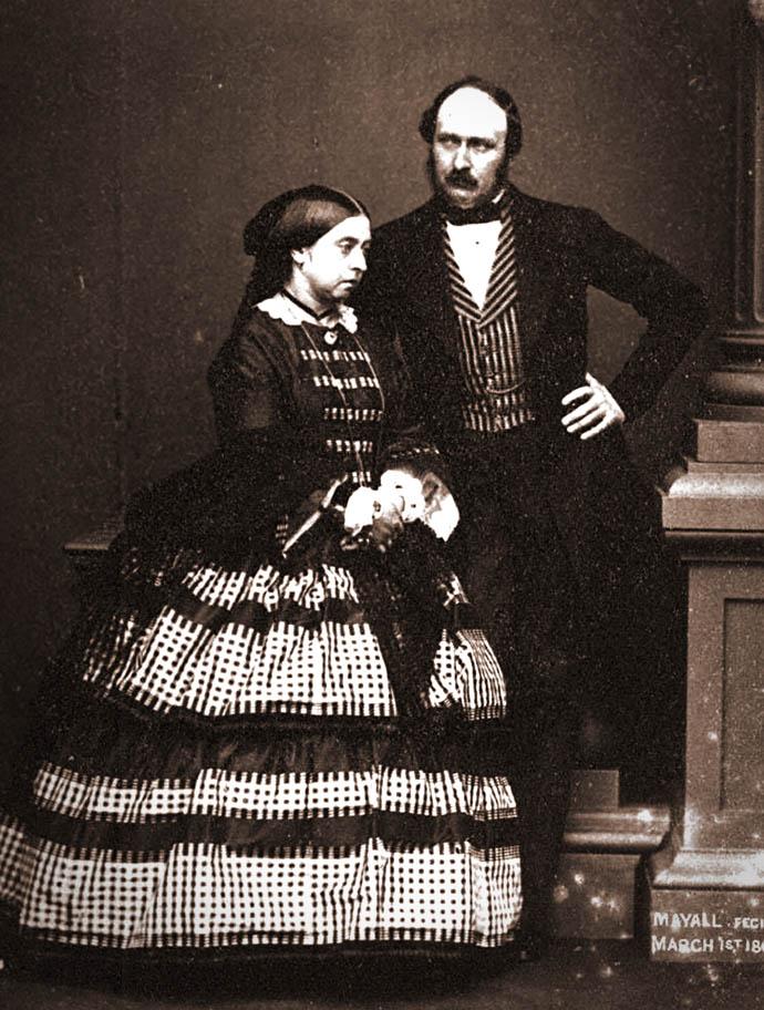 koningin-victoria-en-prins-albert1861