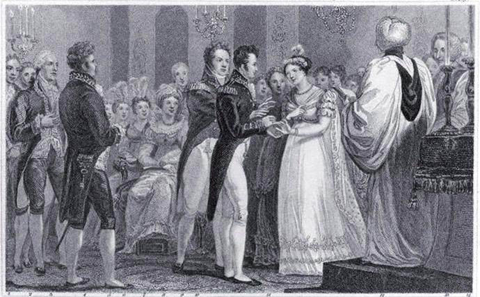 charlotte-leopold-trouwen-1816