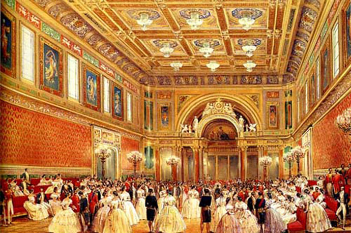 buckingham-palace-balzaal-1856-louis-haghe