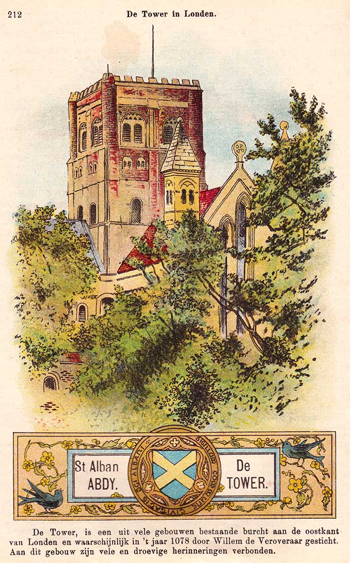 st-albans-abbey-tower-prent