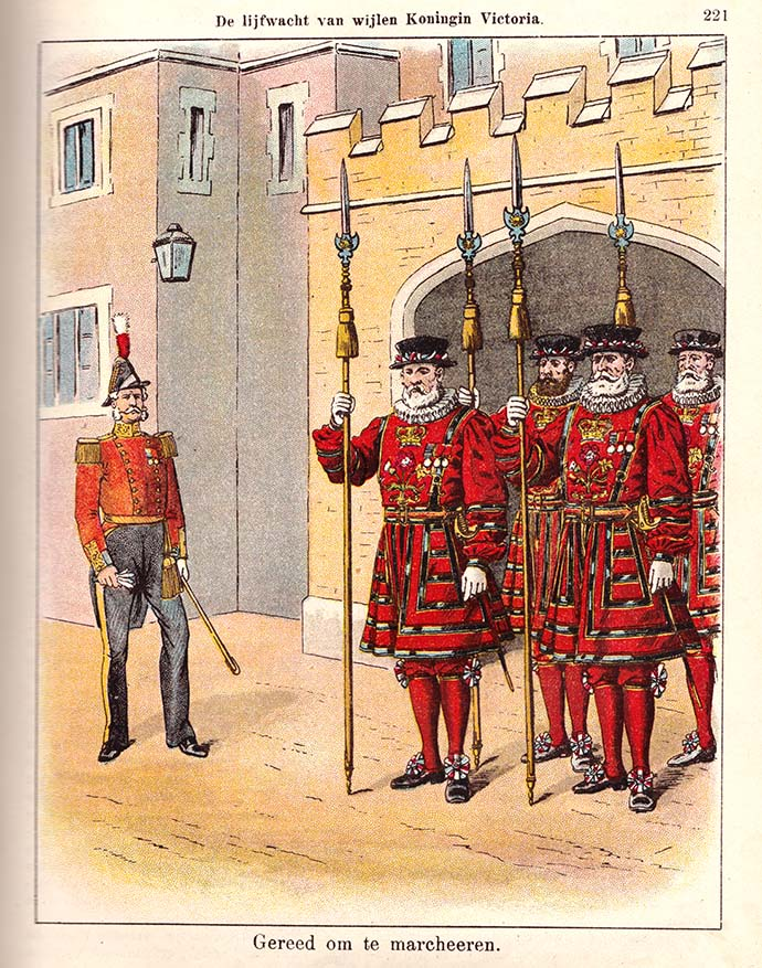 victoria-royal-beefeaters-london-prent