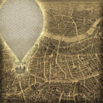 Victoriaans Londen vanuit een luchtballon