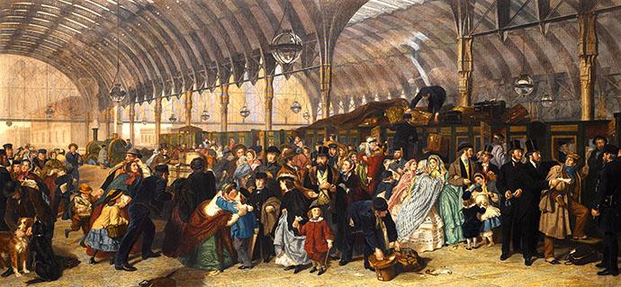 victoriaanse-cadeaus-canvas-frith-railway-station